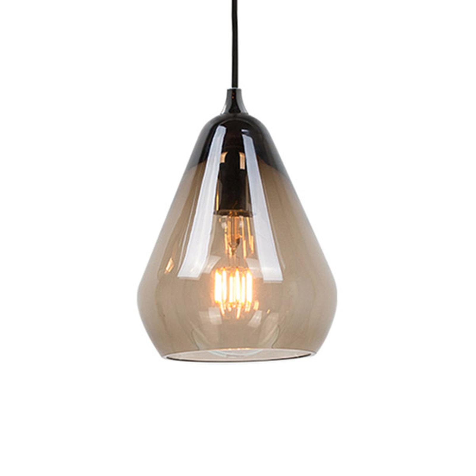 Innermost Core 20 - glazen hanglamp, rookgrijs