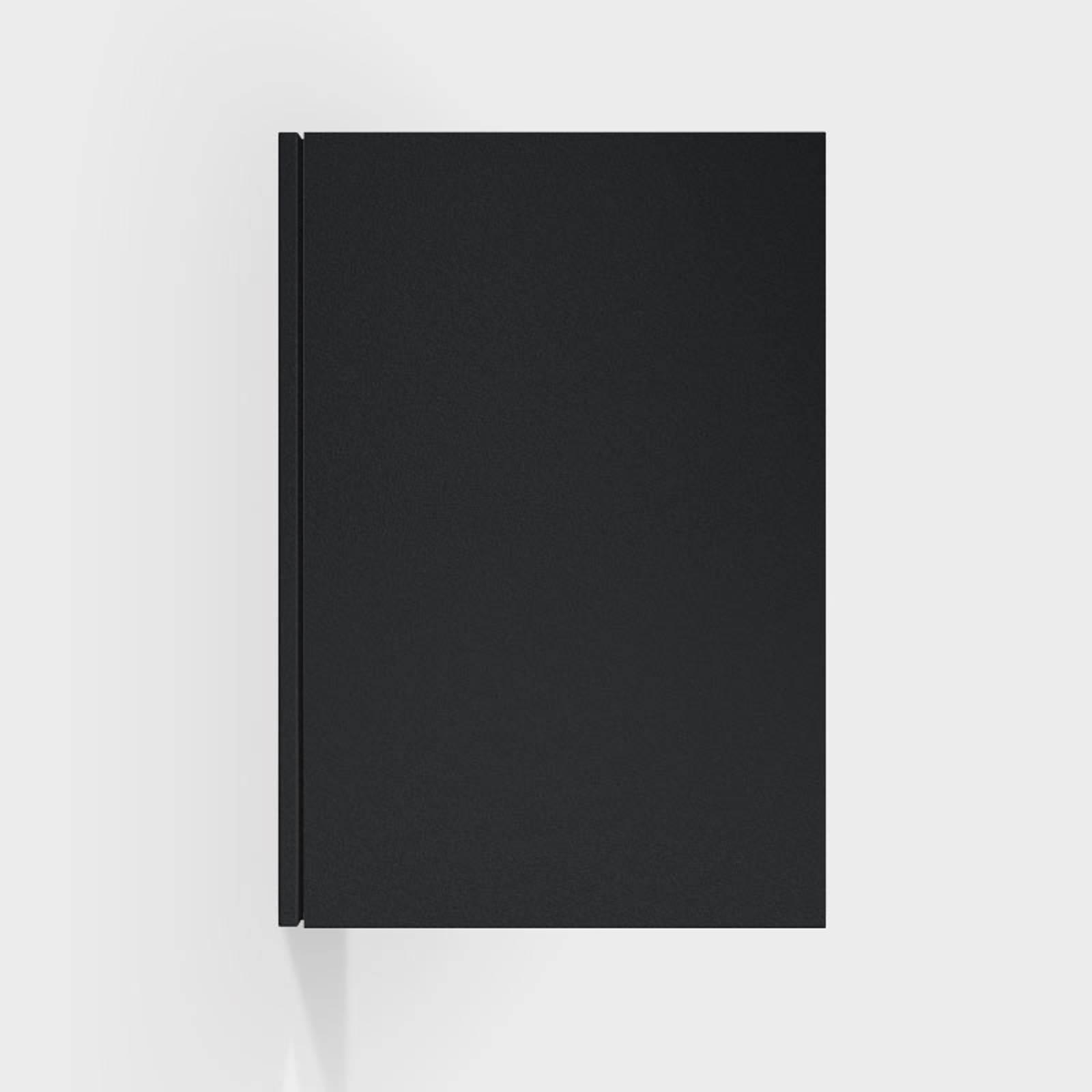 IP44.de Cut one LED-Außenwandleuchte, deep black