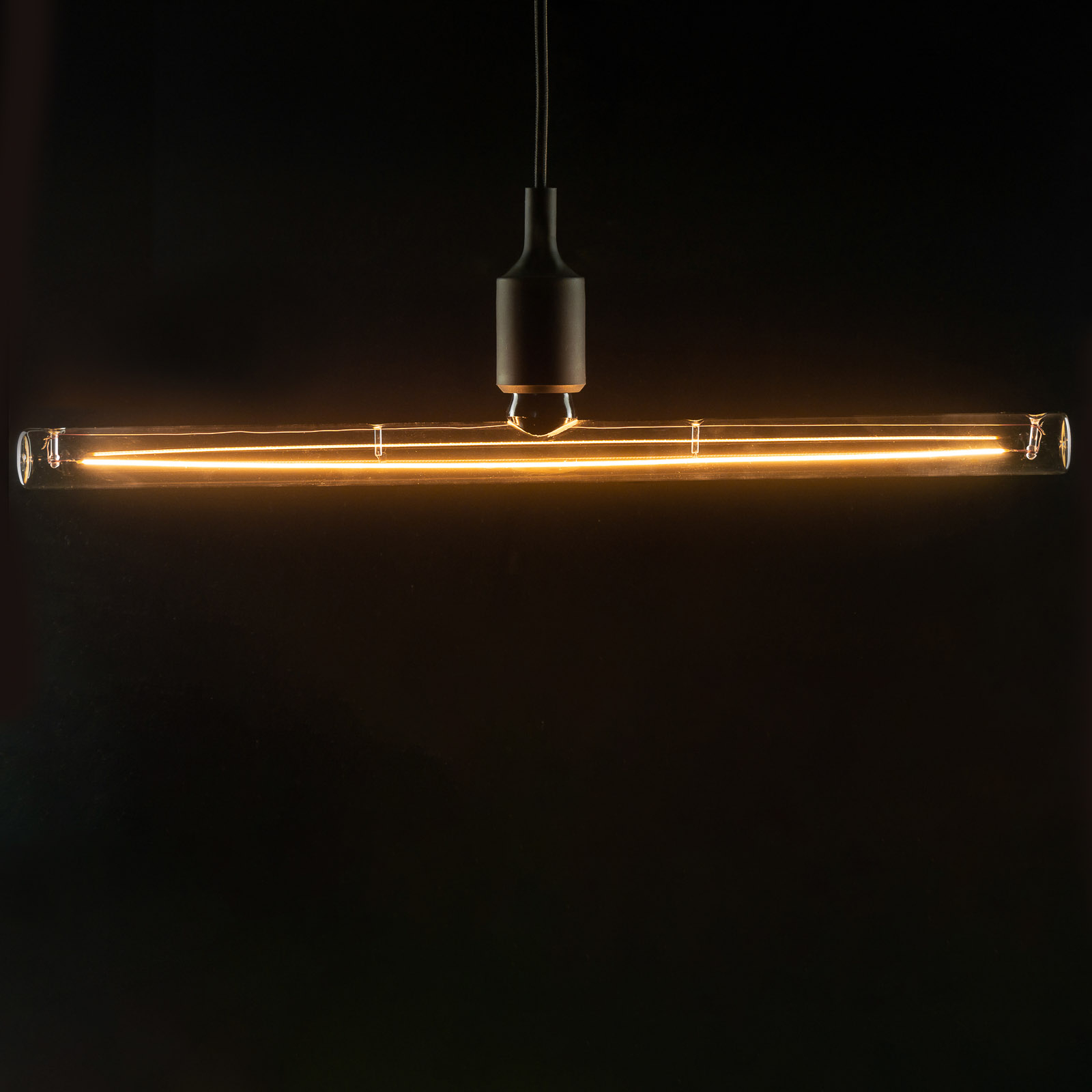 SEGULA LED-Lampe E27 12W Tube 50cm klar dimmbar