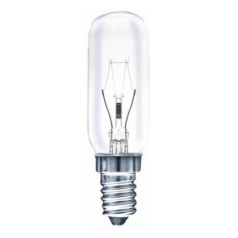 Ampoule tubulaire E14 40 W, transparente