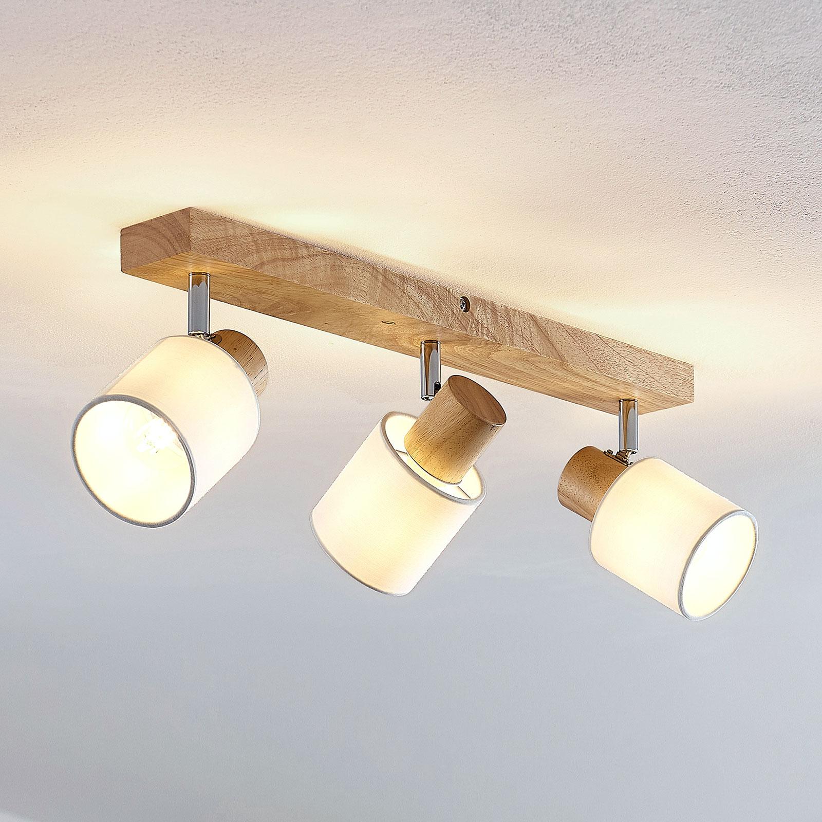 Lindby Wanessa stropní bodové světlo, třížár.