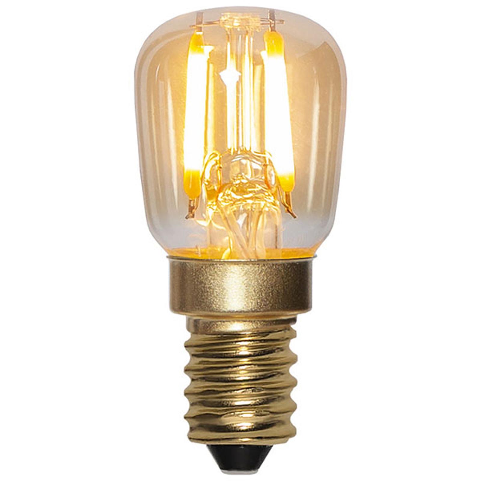 Ampoule LED E14 0,5W 30lm blanc chaud 2000K ambre