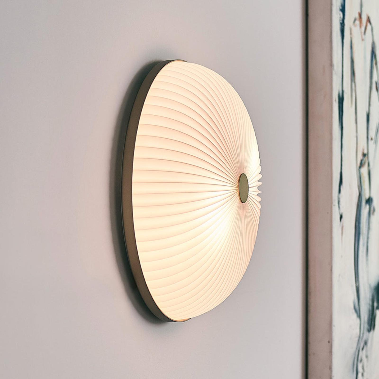 LE KLINT Lamella wandlamp goudkleurig 35 cm