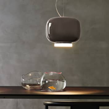Foscarini MyLight Chouchin 3 LED-hengelampe, grå