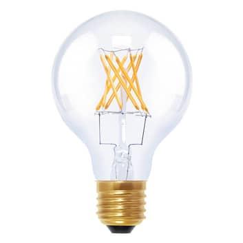 E27 6W 922 LED-globepære G80 i kultrådsoptik