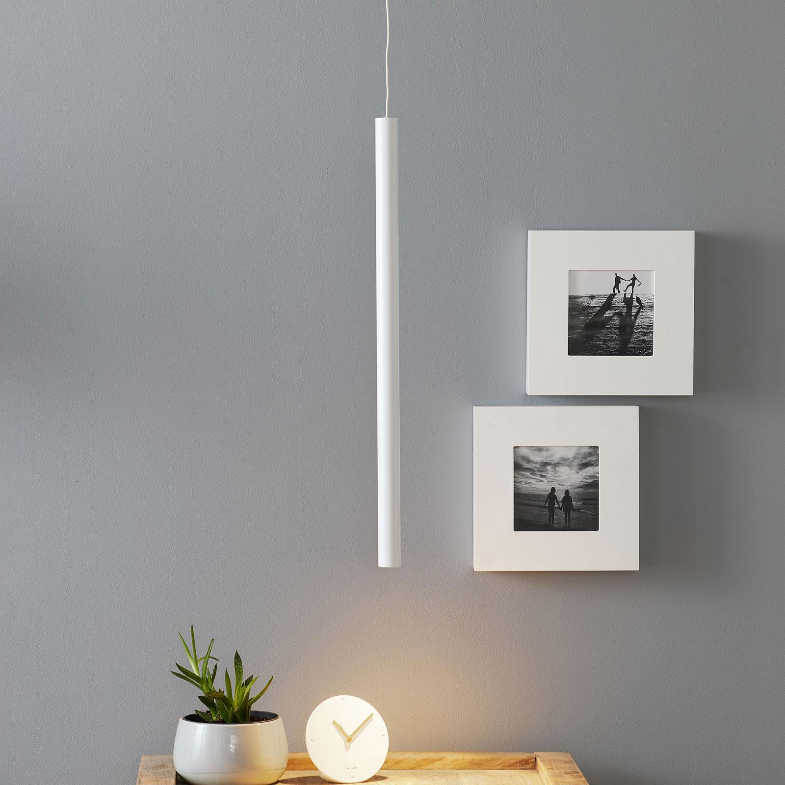 Arcchio Ilmare lampa wisząca LED 60 cm, biała