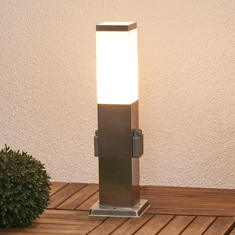Columna energética Lorian con iluminación