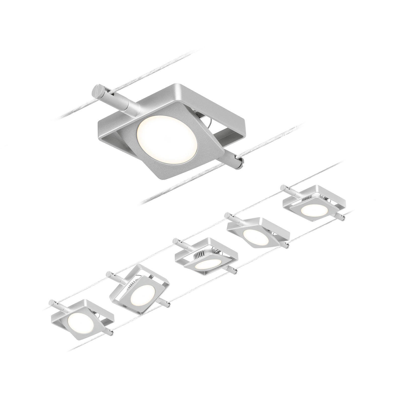 Paulmann Wire MacLED LED cable system, 5-bulb_7602568_1