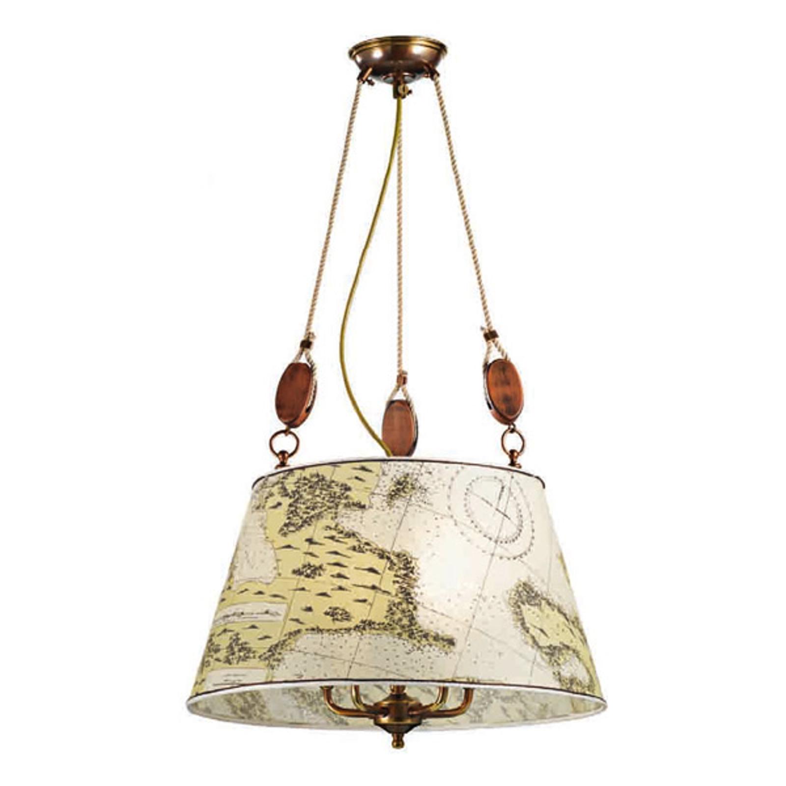 Duża lampa wisząca Nautica 50 cm