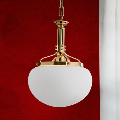 1-lichts hanglamp DELIA, in messing kleuren