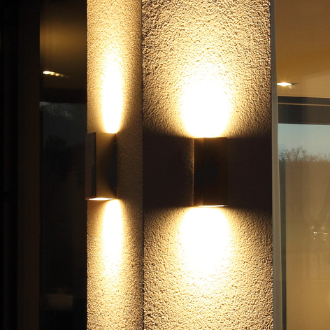 Kwalitatief hoogwaardige buitenwandlamp Senta