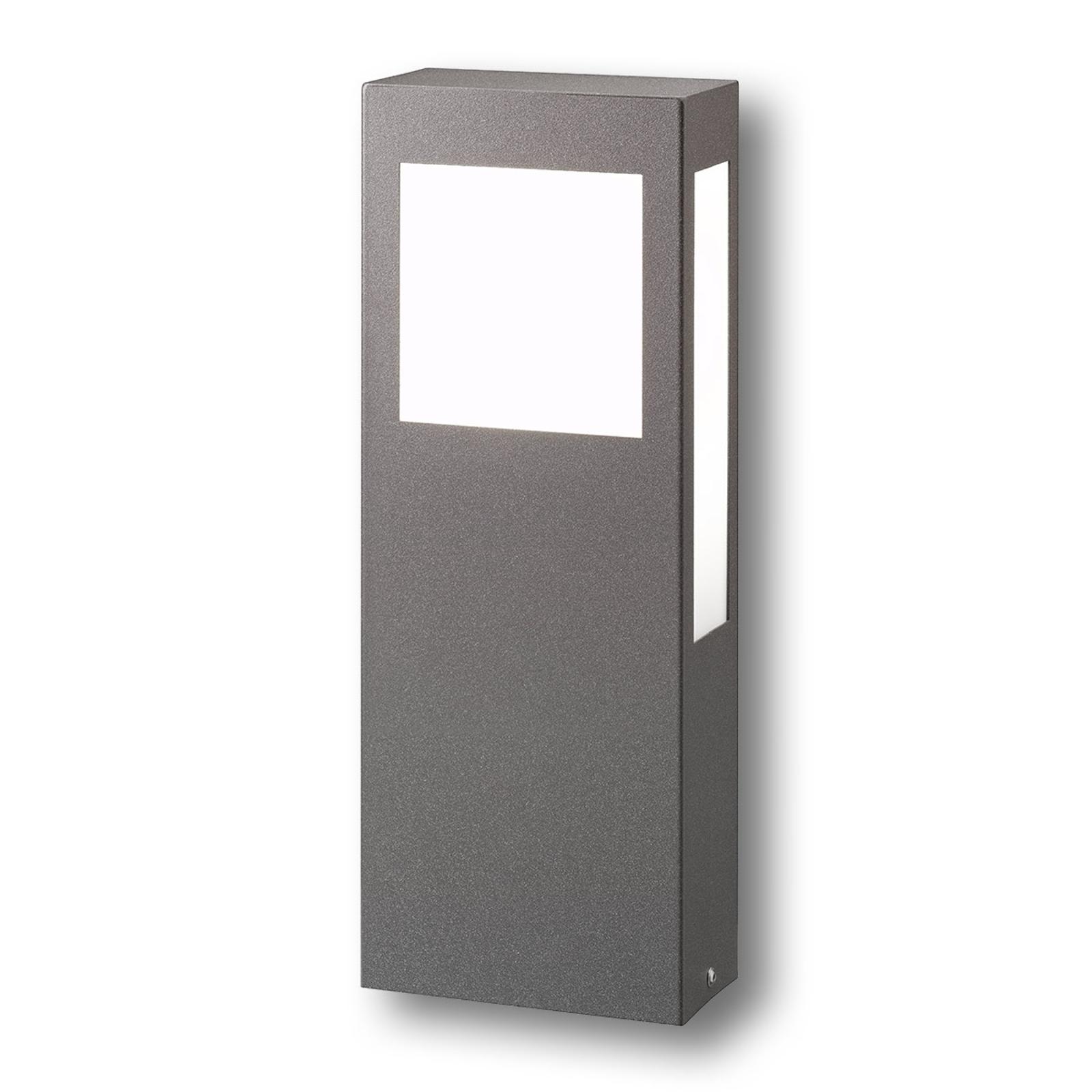 lámpara pilar con láminas de Makrolon Aqua Paulo