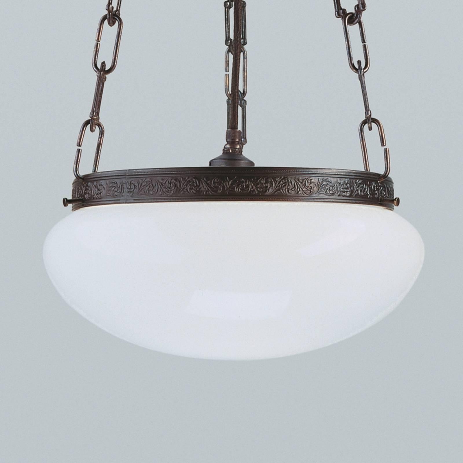Antiek uitziende hanglamp Verne