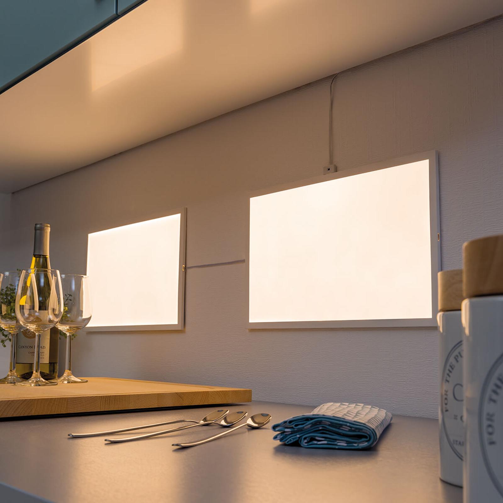 Paulmann Glow LED-Panel Basisset, 8W warmweiß