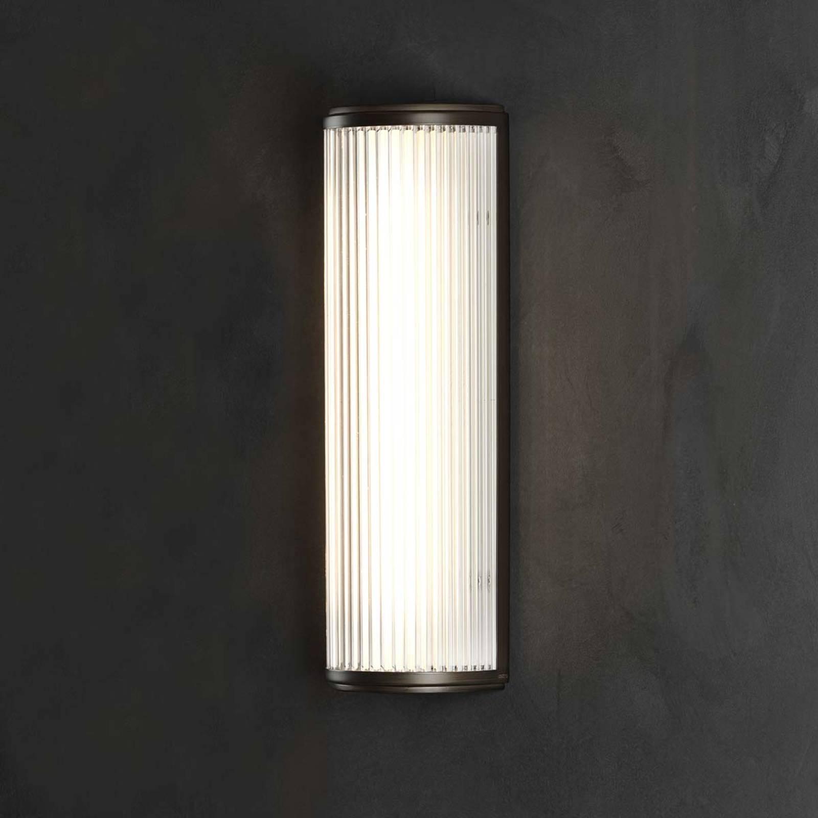 LED wandlamp Versailles met fijne ribbeling