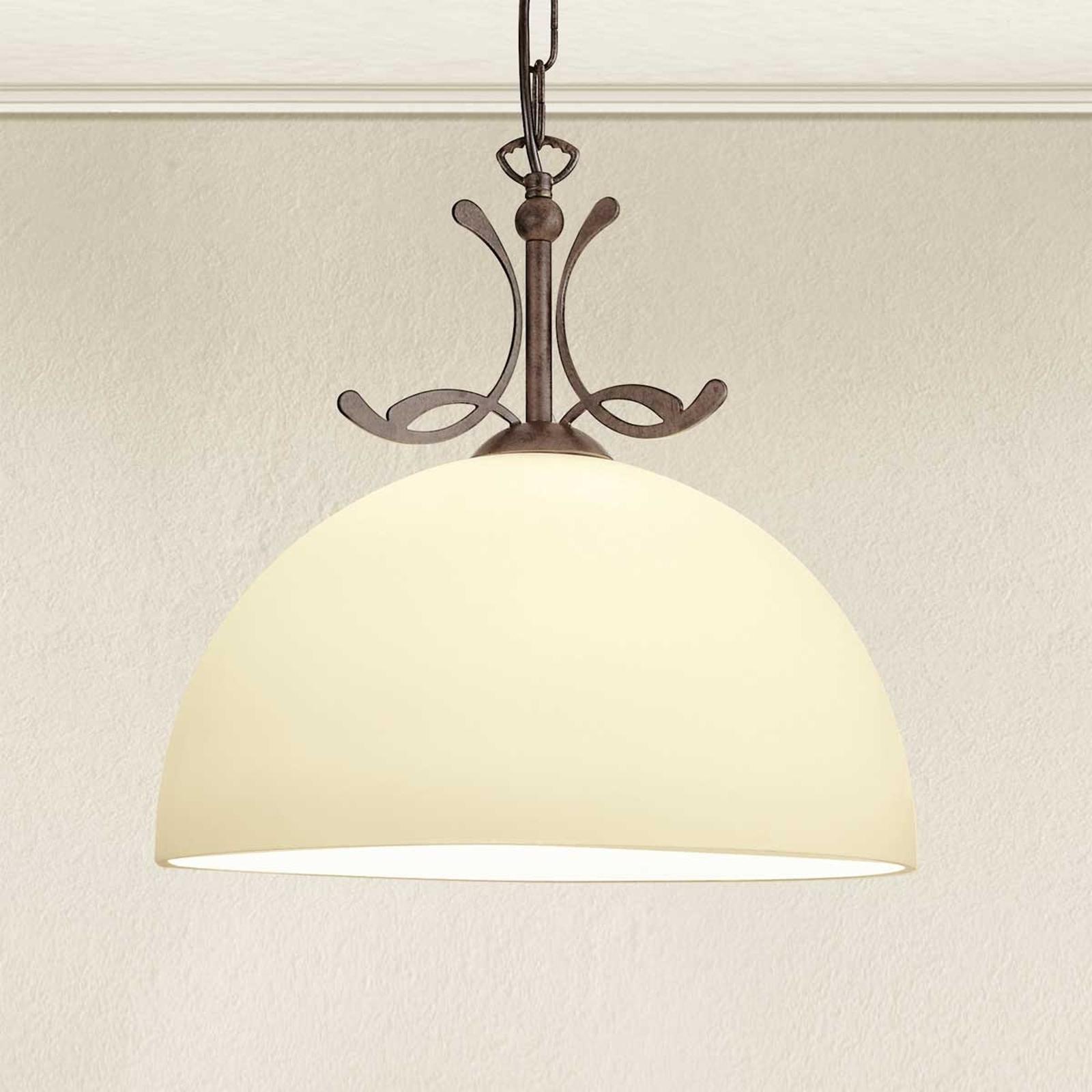 Lampa wisząca styl dworkowy Lorenzo