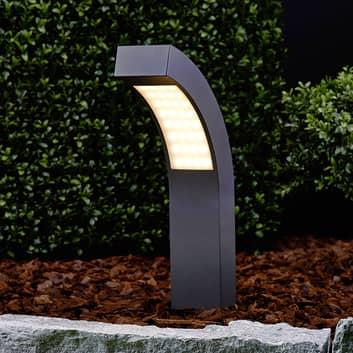 Skrå Lennik LED-sokkellampe, 40 cm