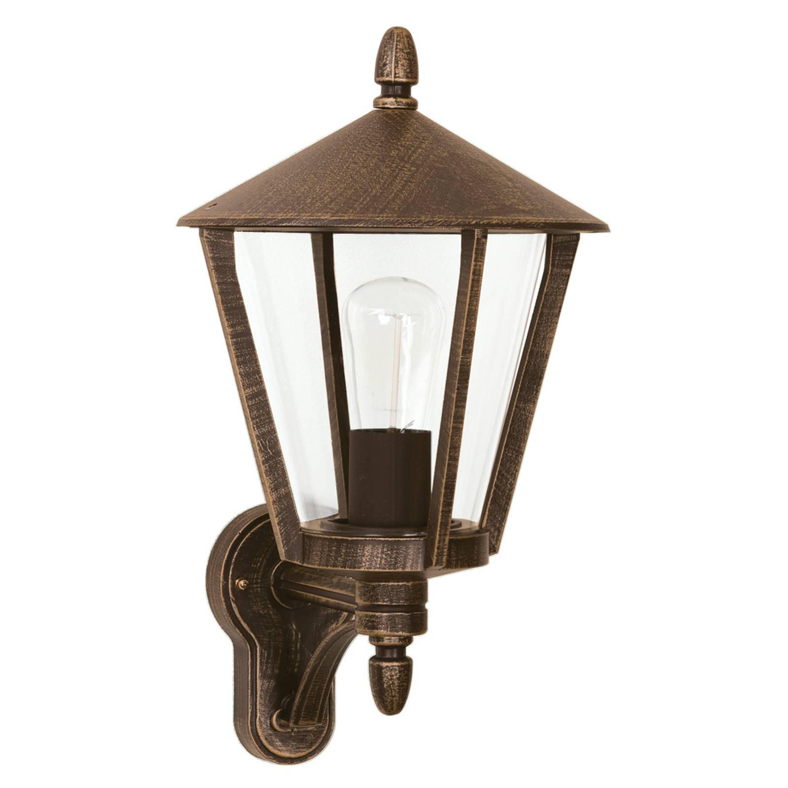 Stylowa zewnętrzna lampa ścienna 668 B