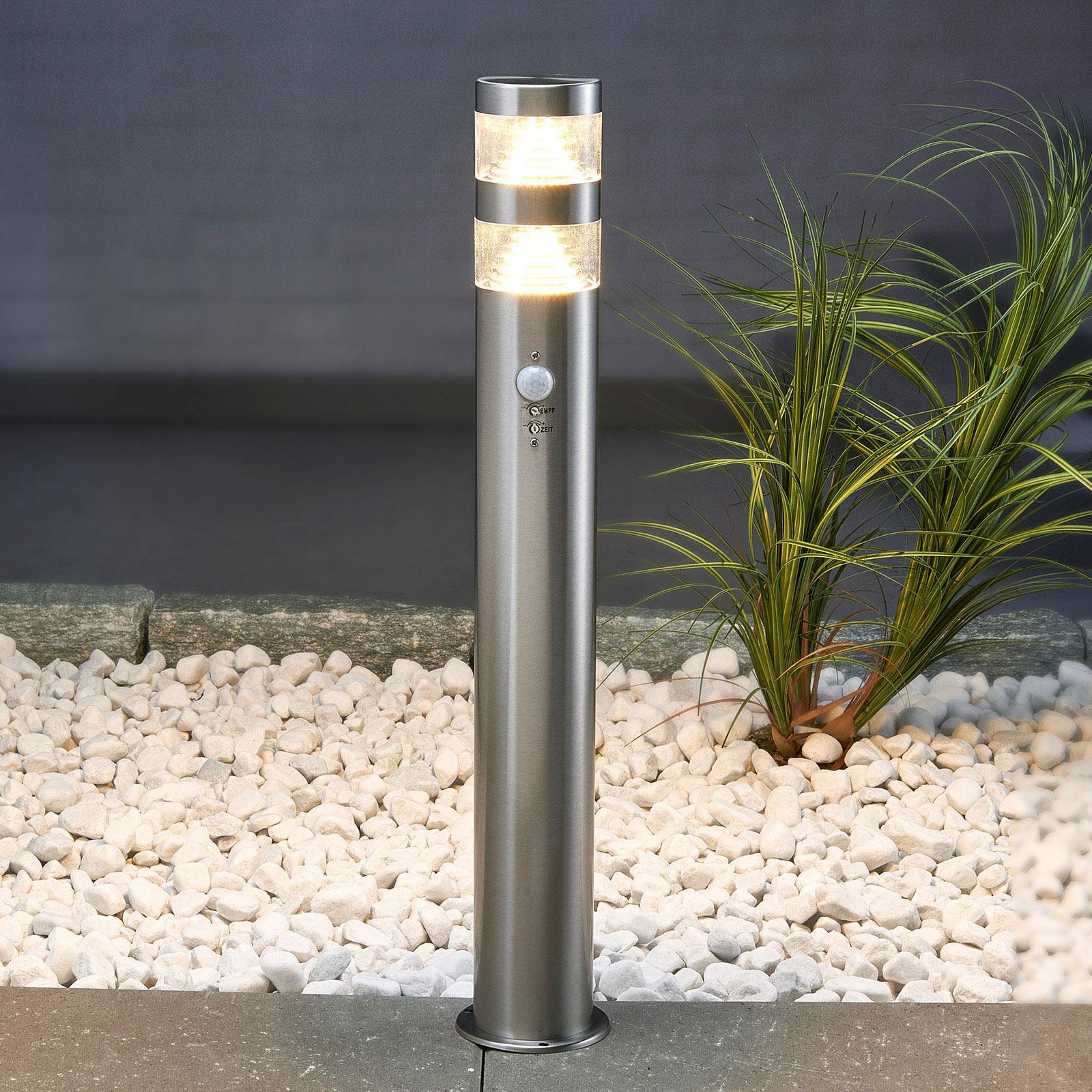 Słupek ośw. LANEA z LED i czujn. ruchu 60 cm
