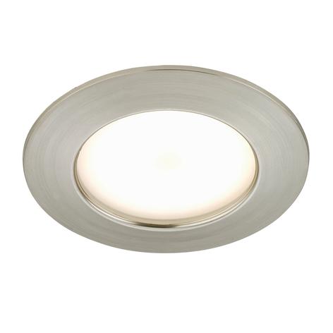 Carl - LED-Einbauleuchte für außen, nickel matt