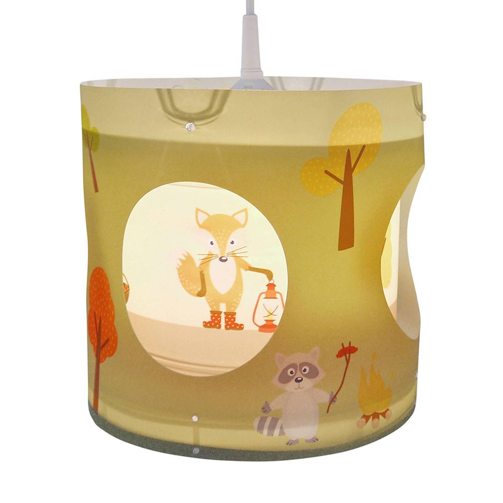 Draai-hanglamp bosdieren