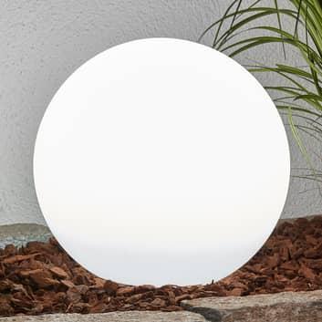Dekorativ LED-solarlampa Lago i kulform