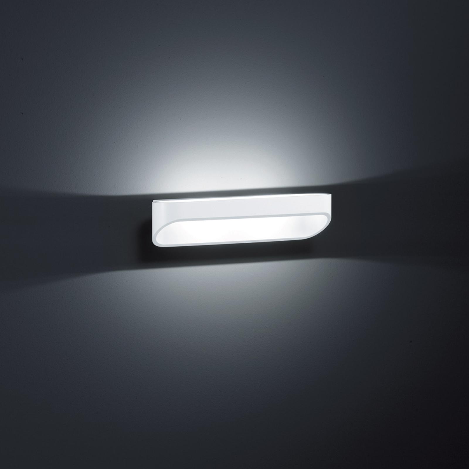 Moderne led-wandlamp Onno, 30 cm, mat wit