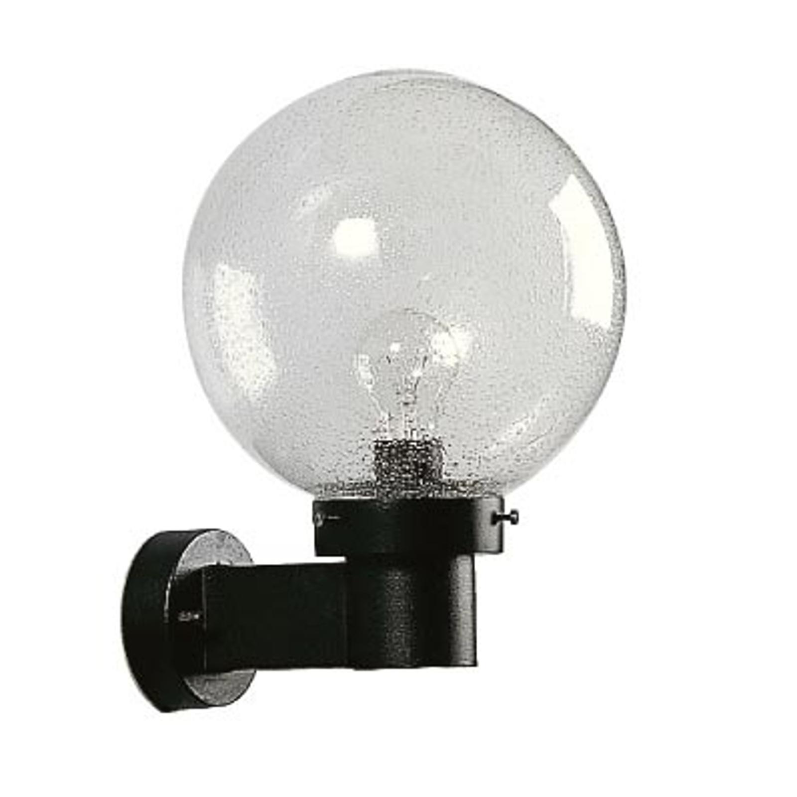 Zewnętrzna lampa ścienna 25 czarna