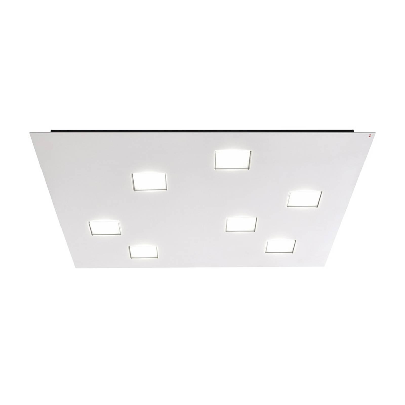 Krachtige plafondlamp Quarter in wit
