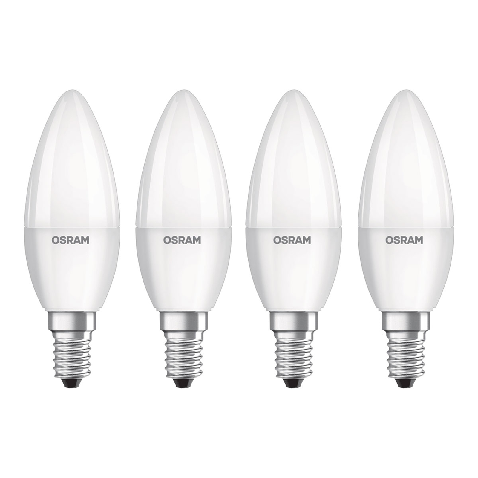 OSRAM LED-Kerze E14 Base Retro 5,7W 4er 2.700K