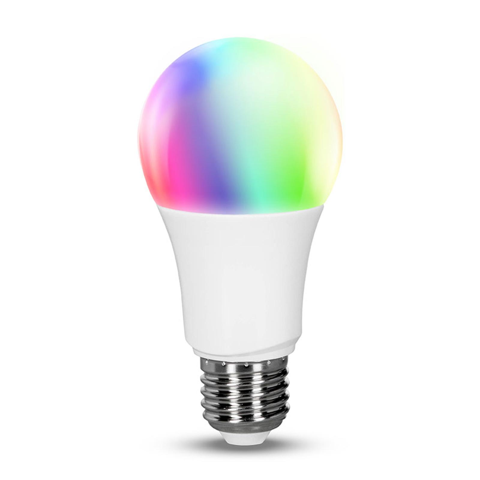 Müller Licht tint white+color LED-pære E27 9,5W