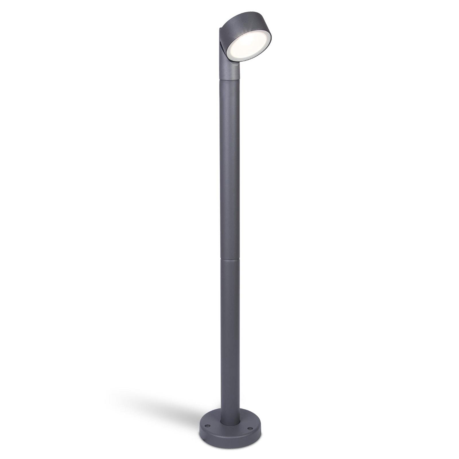 LED-Wegeleuchte Trumpet mit schwenkbarem Spot