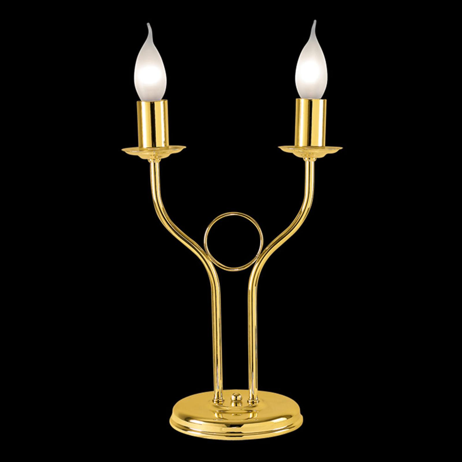 Klassieke tafellamp Retro, goud