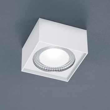 Helestra Kari LED plafondlamp, hoekig, wit