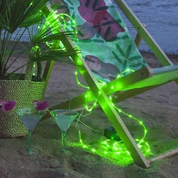 Manguera de luces LED Tuby, pilas