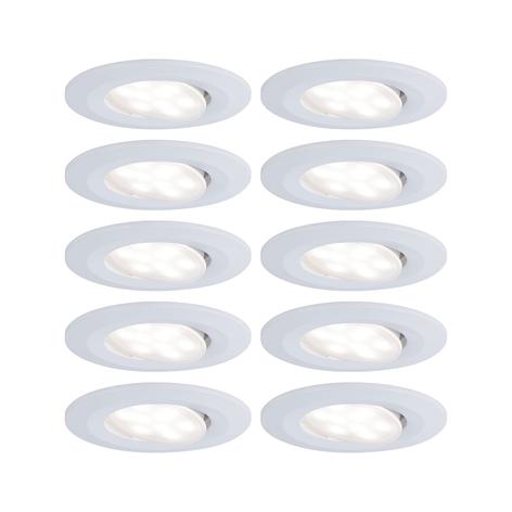Paulmann Calla LED-spot, 10 stk, dæmpbar