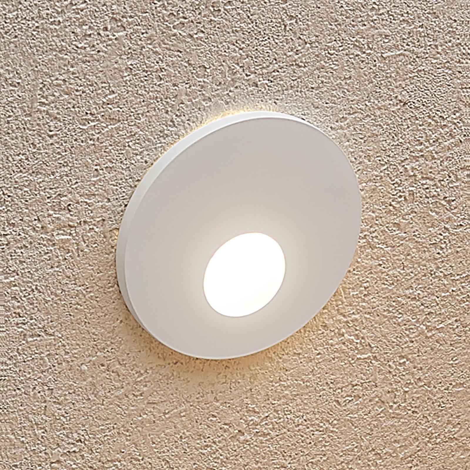Arcchio Vexi oprawa wpuszczana LED, okrągła, biała