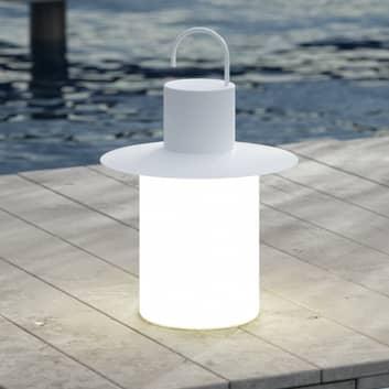LED-Terrassenleuchte Nautic 1-fach-USB, weiß