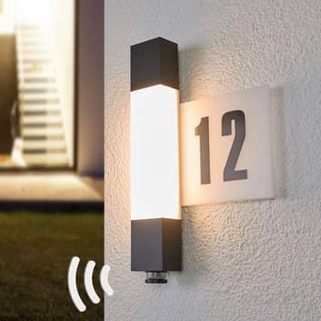 STEINEL L630 applique LED numero civico e sensore