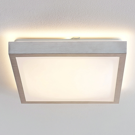 Lindby Margit lámpara de techo LED angular 37,5 cm