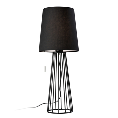 Villeroy & Boch Mailand lampada da tavolo in nero