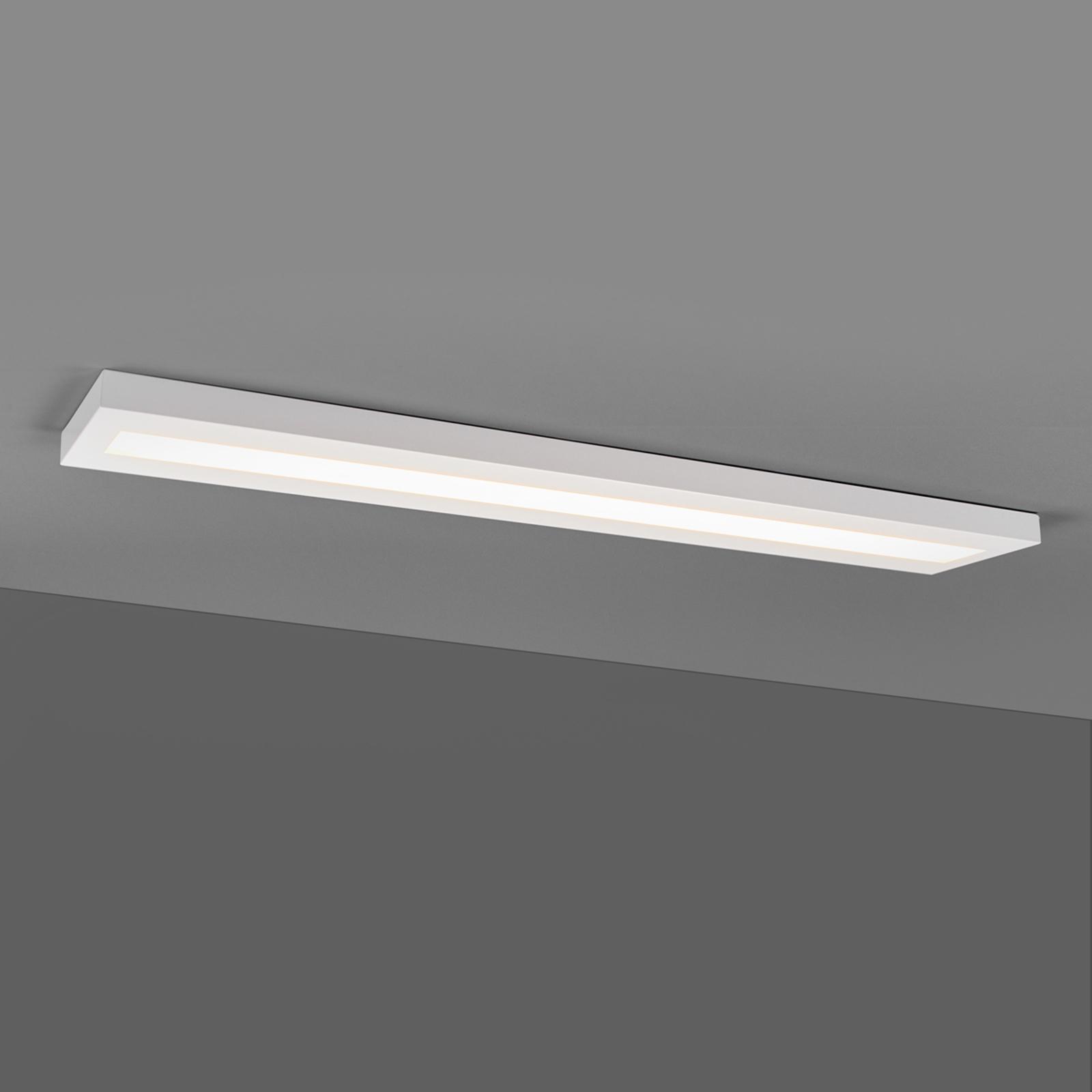 Plafonnier LED oblong 33W, blanc BAP