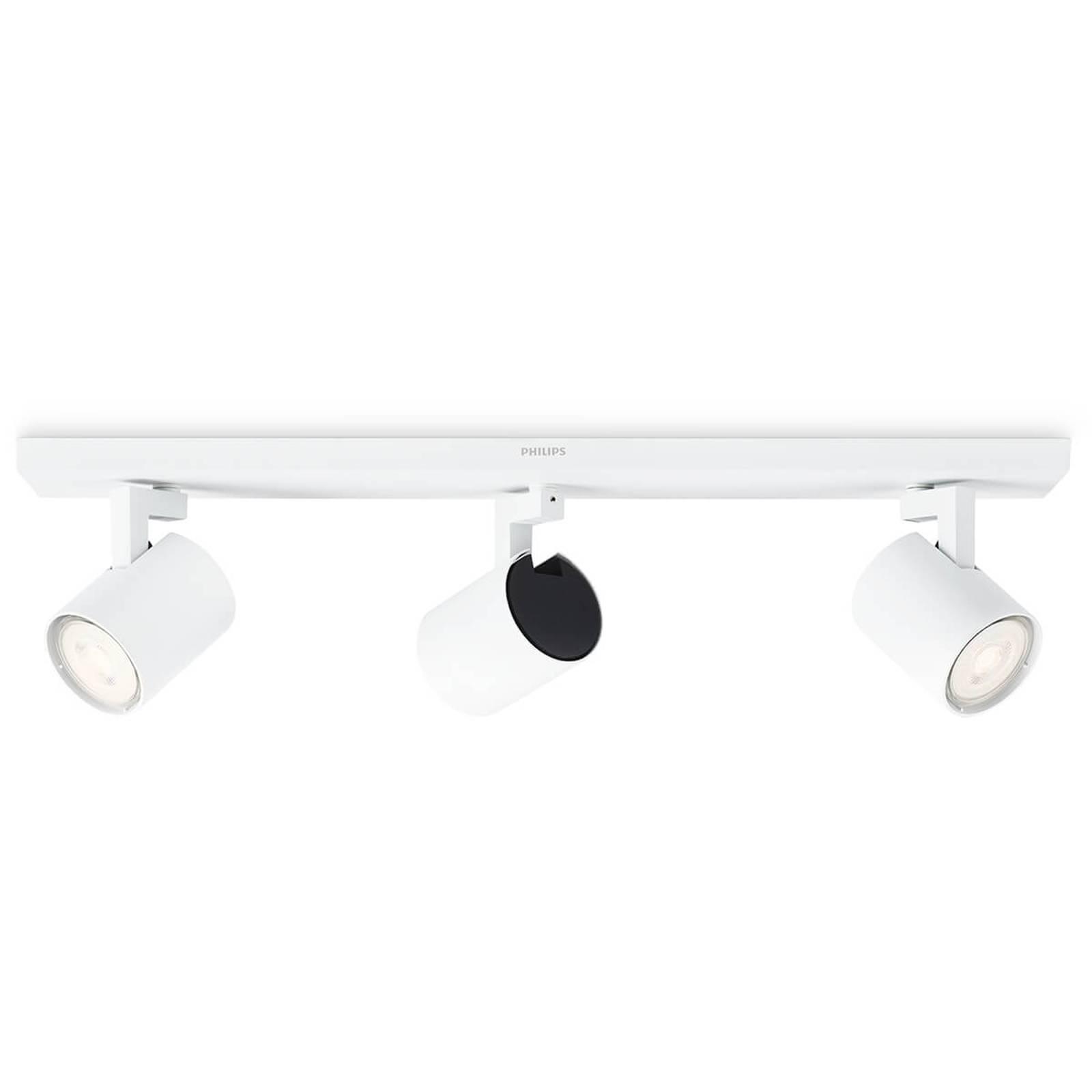 Philips Runner LED-Deckenstrahler weiß 3-flg.
