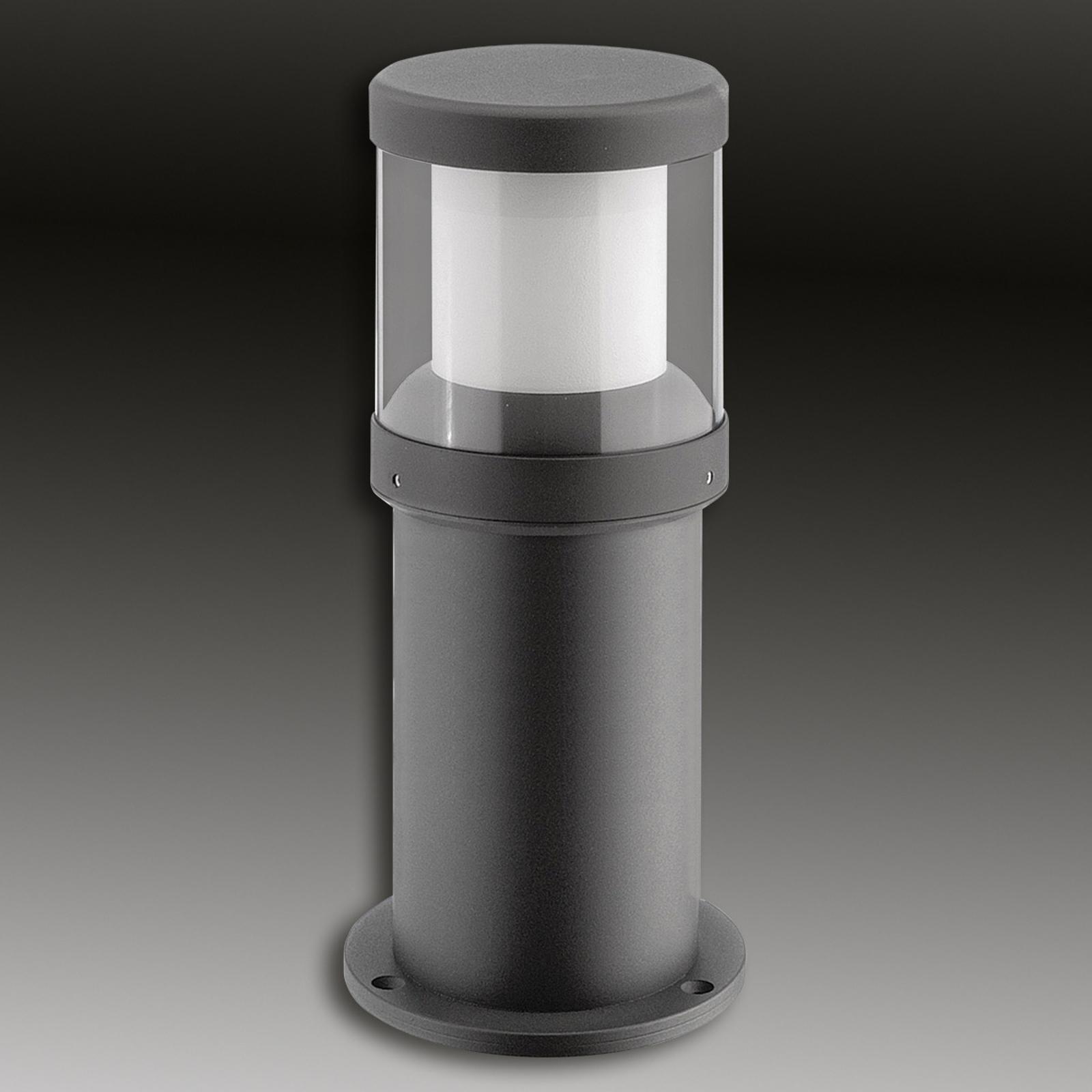 Gepoedercoate LED sokkellamp Levent - IP65