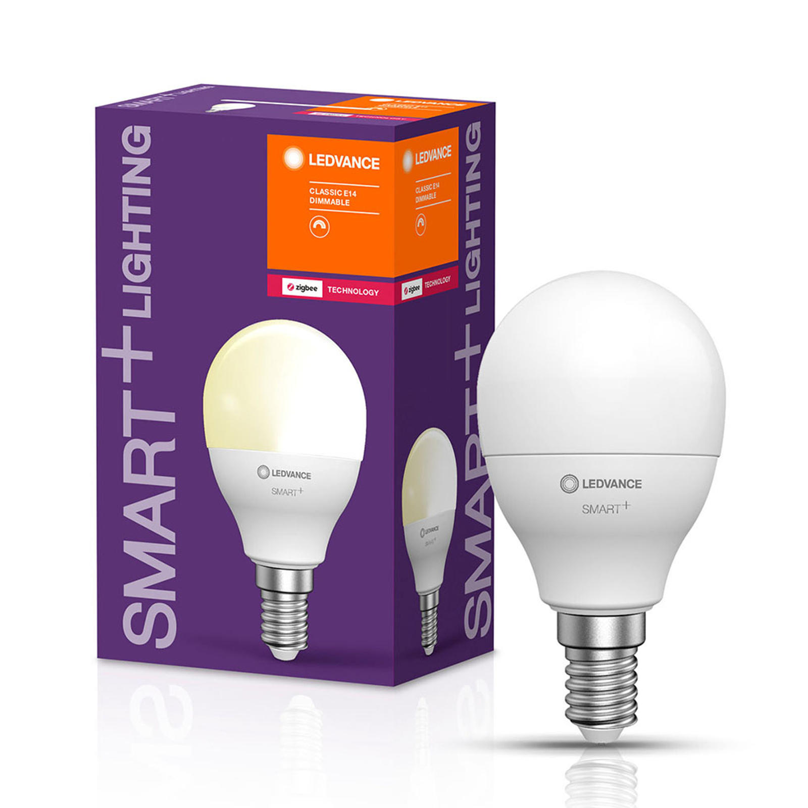 LEDVANCE SMART+ ZigBee E14 LED-dråpe 5 W 2700K
