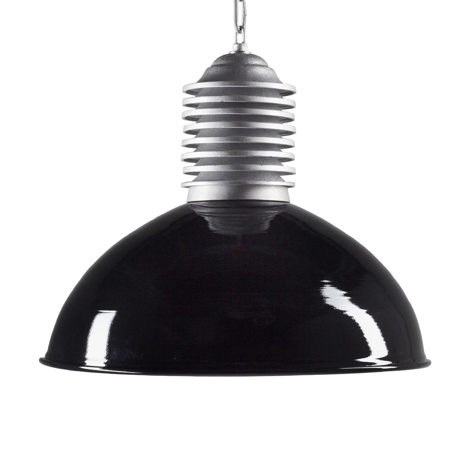 Utomhushänglampa Carla aluminium/svart