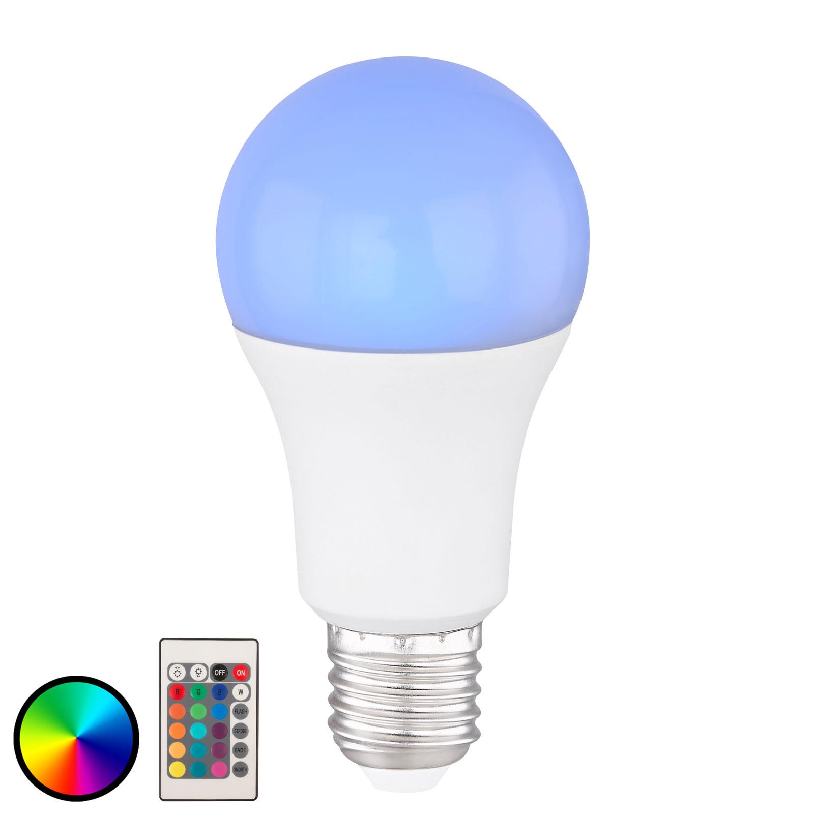 LED-pære E27 10 W Tuya-Smart, RGB, dimbar