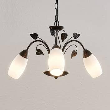 Lindby Isalie LED hanglamp, 3-lamps