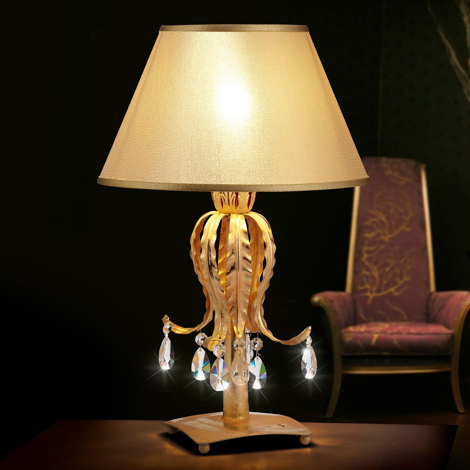 FABIANA - lampa stołowa o wytwornym wyglądzie