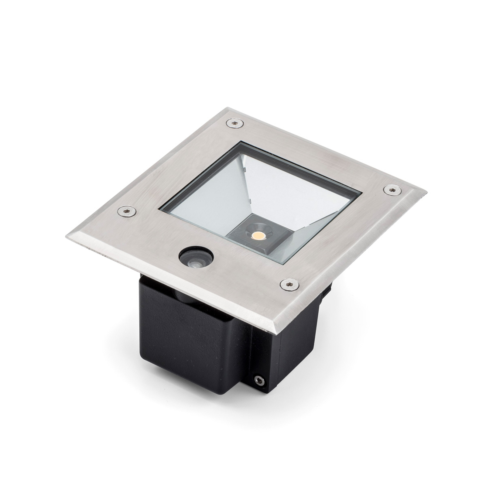 Dale LED grondspot 12 W schemersensor